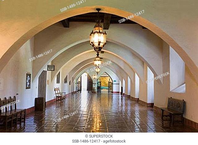 Anacapa Gallery, Santa Barbara County Courthouse, Santa Barbara, California, USA