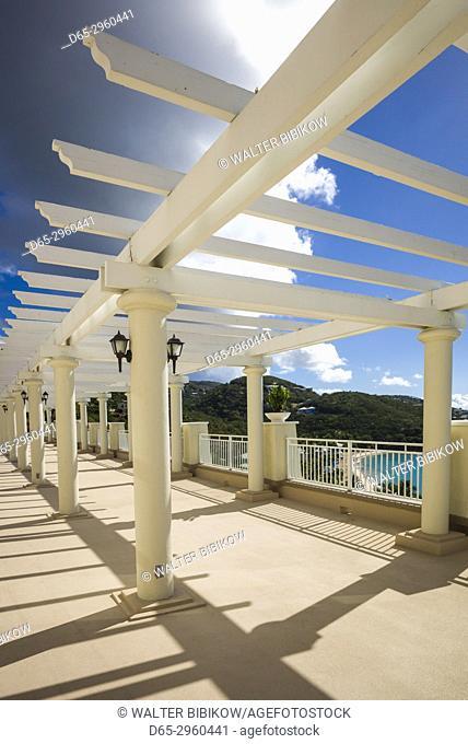 U. S. Virgin Islands, St. Thomas, Morningstar Bay, Marriott Resort, trellis