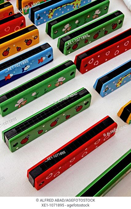 Harmonic color, musical instrument, toys