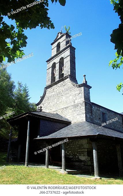 Church of Trascastro de Peranzanes. Valley of Fornela. León