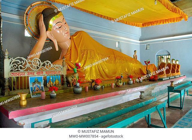 Ramu Sima Bihara, a Buddhist monastery at Ramu in Cox's Bazar district Cox's Bazar, Bangladesh June 2, 2007