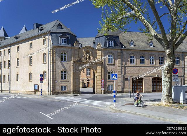 Europe, Luxembourg, Echternach, Lycee Classique d'Echternach (Secondary School Building)