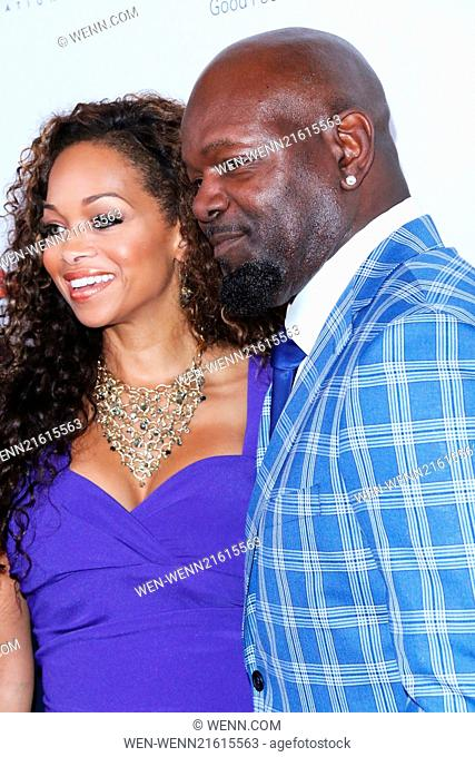 14th Annual Harold & Carole Pump Foundation Gala - Arrivals Featuring: Patricia Southall,Emmitt Smith Where: Los Angeles, California