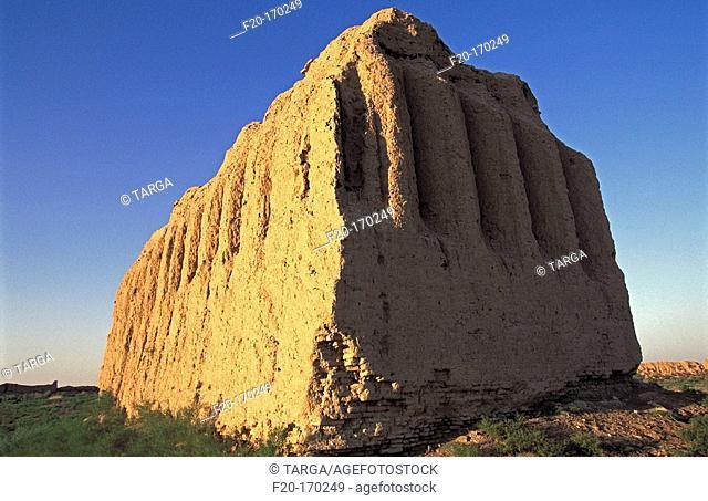 Ruins of ancient Merv. Turkmenistan