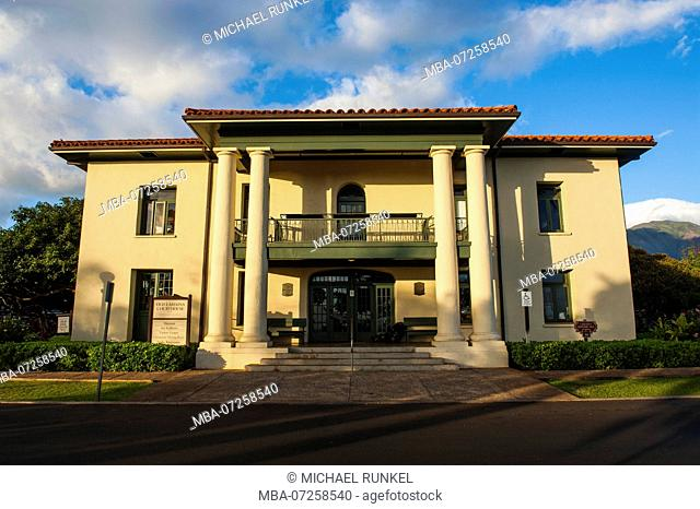 Old Lahaina court house, Maui, Hawaii