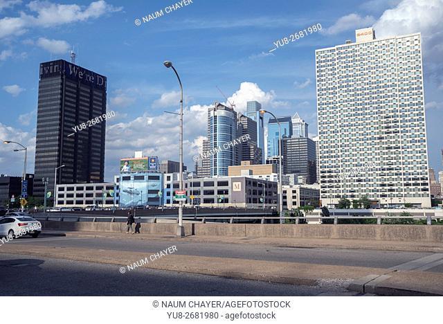 Views of the modern city, Philadelphia, Pennsylvania, USA