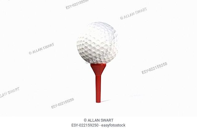 Golf Ball on TeeGolf Ball on Tee