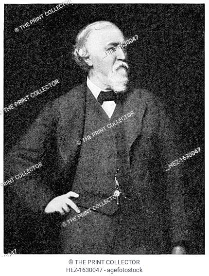 'Robert Browning', 1923. Published in The Outline of Literature, by John Drinkwater, London, 1923