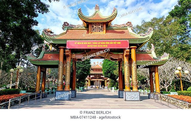 Temple Den Ben Duoc in Vietnam