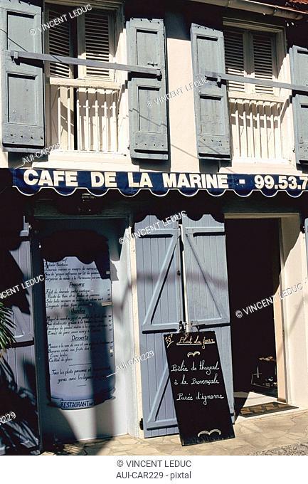 French Caribbean - Caribbean Islands - Les Saintes - Terre de Haut - The Burg