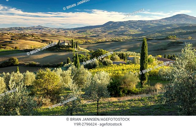 View From The Villa Belvedere Stock Photos And Images