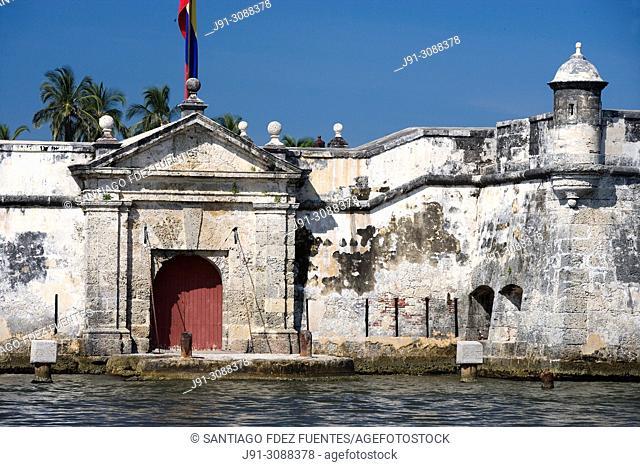 Fort of San Fernando de Bocachica. Cartagena de Indias. Departamento de Bolivar. Colombia