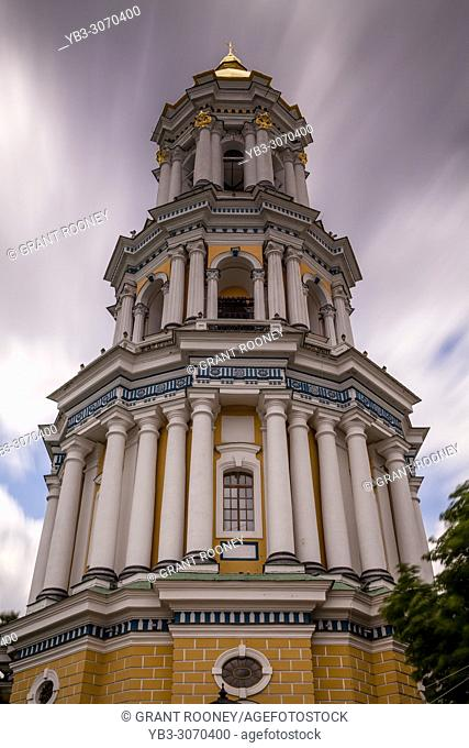 The Great Lavra Bell Tower At Pechersk Lavra Monastery Complex, Kiev, Ukraine