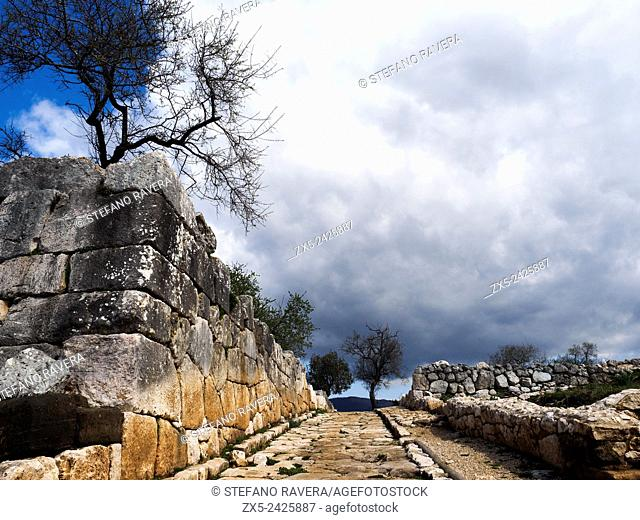 Archaeological site of Ancient Norba - Latina, Italy
