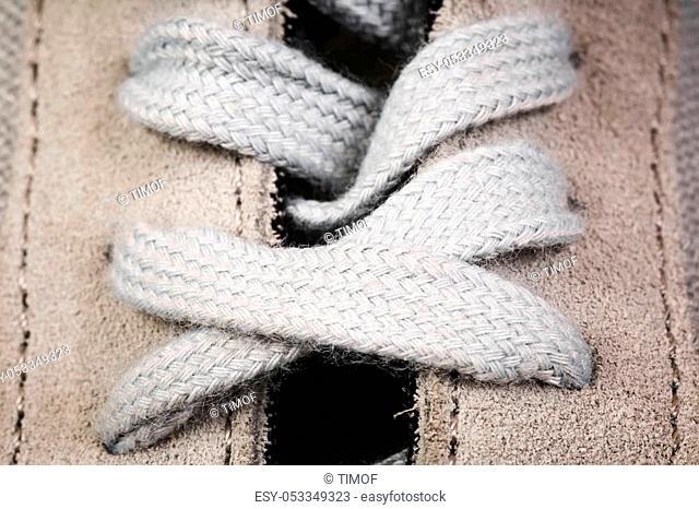 men's sports shoes close up background