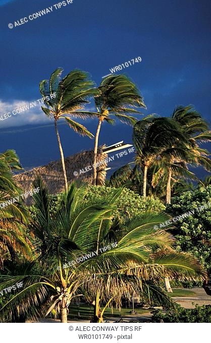 USA, Hawaii, Big Island, Kona Cosat, Kona Village Resort