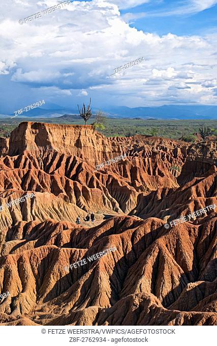 The Tatacoa Desert (Huila), Colombia