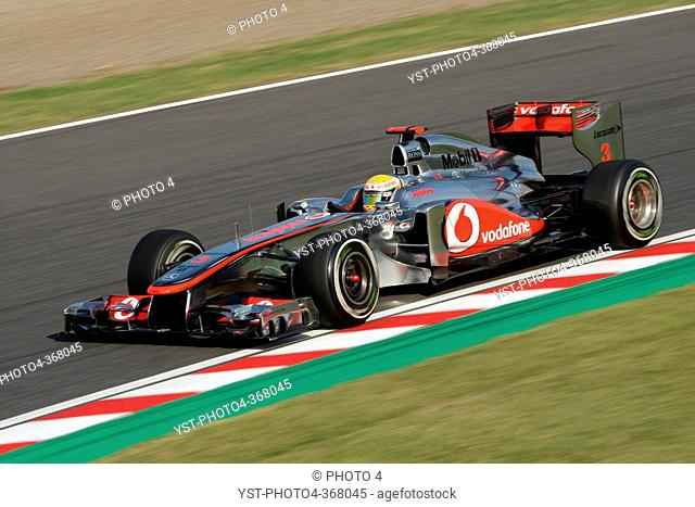 Friday Practice 2, Lewis Hamilton GBR, McLaren Mercedes, MP4-26, F1, Japanese Grand Prix, Suzuka, Japan
