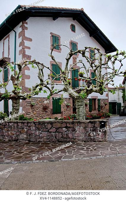 Zugarramurdi Architecture. Baztan valley Navarre Spain
