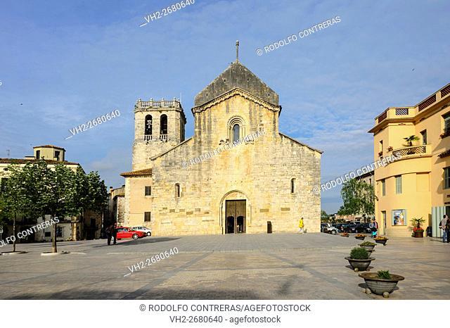 Sant Pere monastery in Besalú