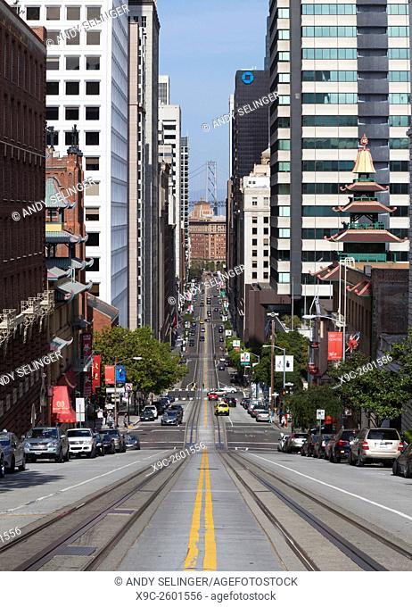 California Street, San Francisco, USA