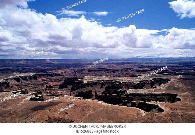 USA, United States of America, Utah: Canyonlands National Park, Island in the Sky District
