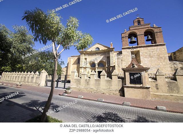 Basilica Cathedral of Santa Maria la Menor in Santo Domingo - Dominican Republic
