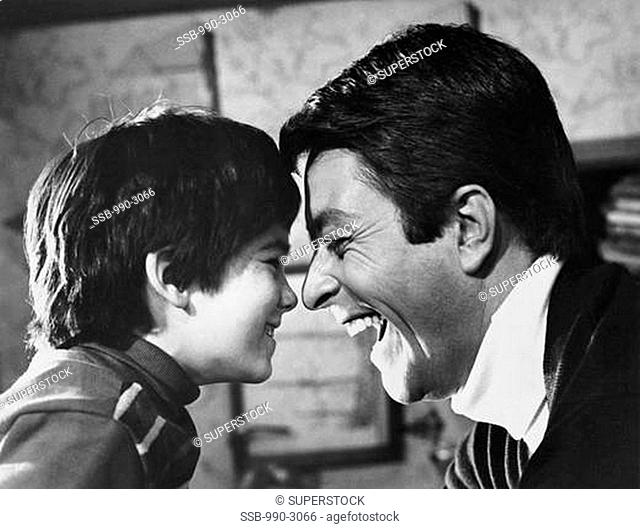 Brandon Cruz and Bill Bixby The Courtship of Eddie's Father
