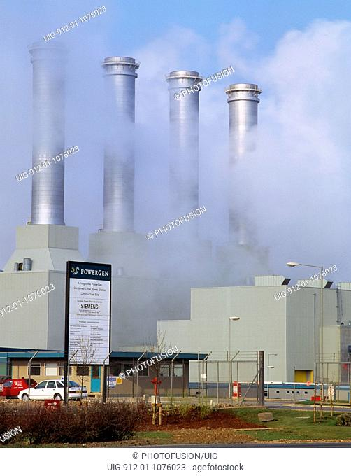 Killingholme Combined cycle gas fired station, Humberside