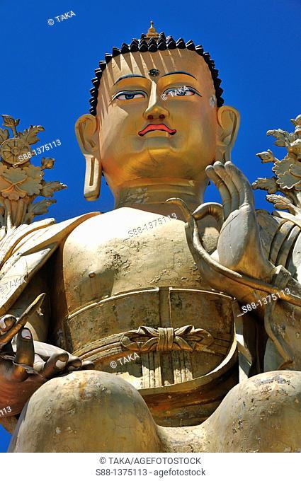 Buddha at Likkir monestry