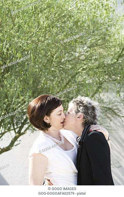 Japanese Teen Lesbian Kissing