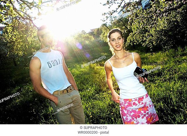 Couple countryside