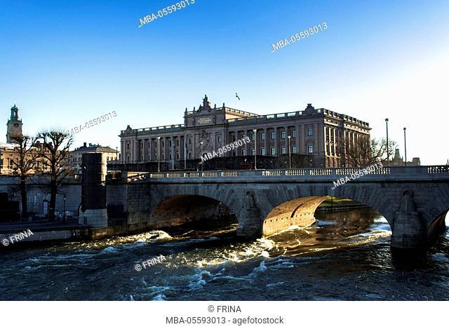 Riksdag, Norrbro bridge, Stockholm