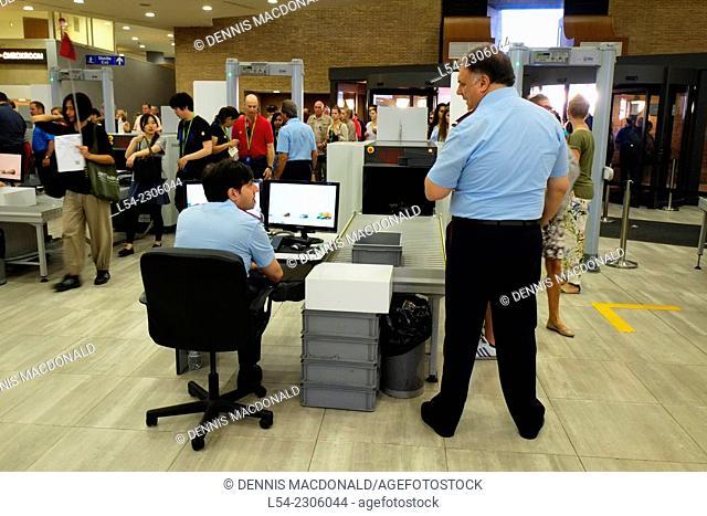 Security Screening Vatican Museum Rome Italy IT EU Europe
