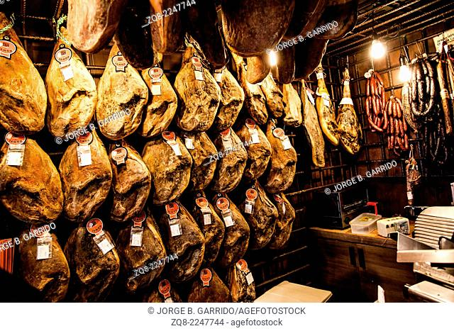 Spain typical gastronomy