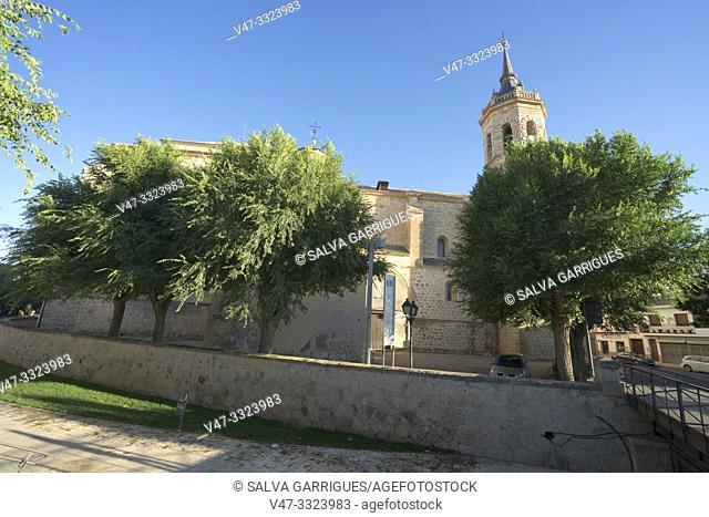 Our Lady of the Assumption Church, Tembleque, Toledo, Castilla la Mancha, Spain