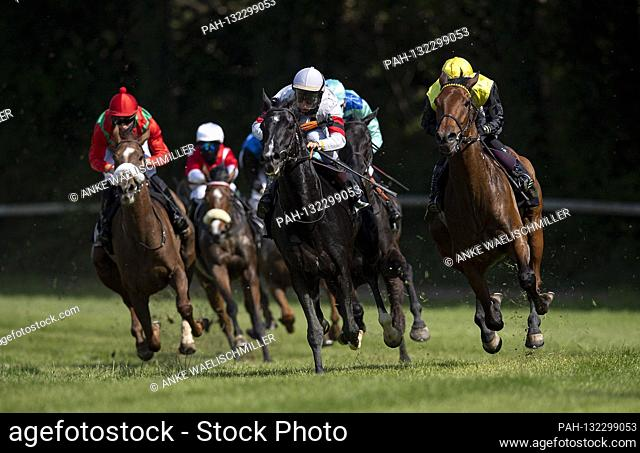 Feature, group, field in action, vr Calico with Lukas Delozier (1st place), Elegant Man with Maxim Pecheur (2nd place), Donna Karolina with Clement Lecoeuvre...