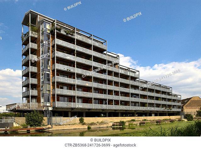 Modern apartments, East London, UK