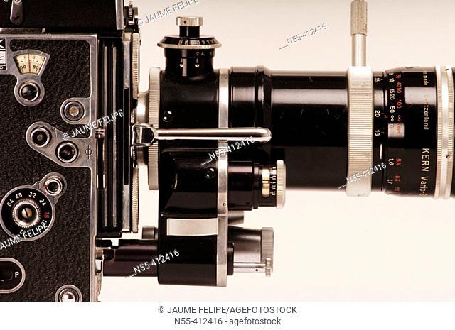 Bolex 16mm camera