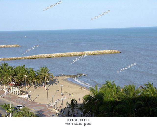 Riohacha Beach, La Guajira, Colombia