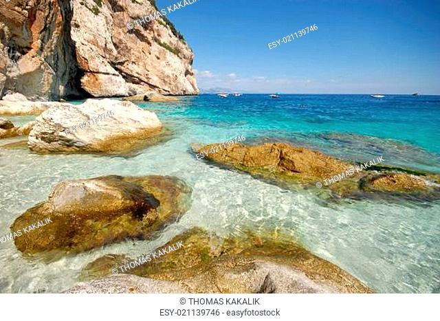 Cala Mariolu auf Sardinien