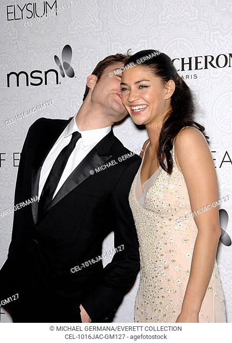 Ed Westwick, Jessica Szohr at arrivals for The Art of Elysium's Annual HEAVEN Gala, 9900 Wilshire Blvd, Beverly Hills, CA January 16, 2010