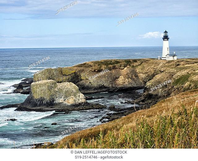 Yaquina Head Lighthouse Oregon Coast