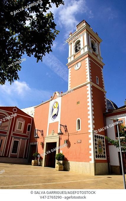 Parish of Our Lady of Montserrat, Picanya, Valencia, Spain, Europe