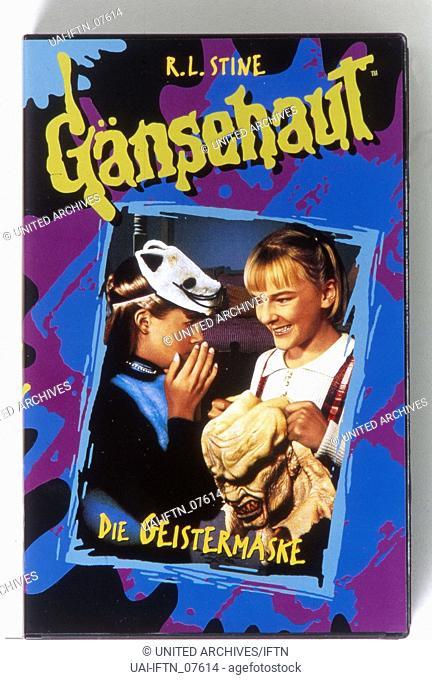 Goosebumps - The Haunted Mask, aka: Gänsehaut - Die Stunde der Geister: Die Geistermaske, USA 1996, Regie: William Fruet, Cover Videohülle