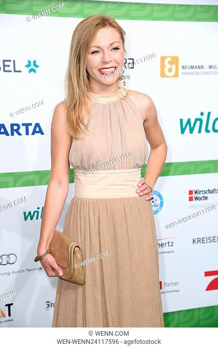 GreenTec Awards 2016 at ICM – Internationales Congress Center - Arrivals Featuring: Anna Ewelina Where: Munich, Germany When: 29 May 2016 Credit: WENN