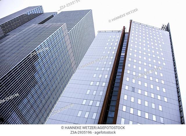 Modern architecture in Rotterdam, the Netherlands, Europe