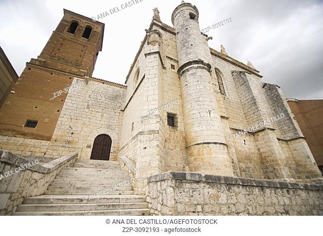 St Froilan church Tordesillas monumental town in Castile Leon Spain