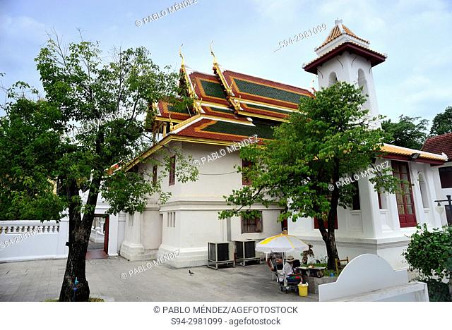 Temples in Wat Bowonniwet, Bangkok, Thailand