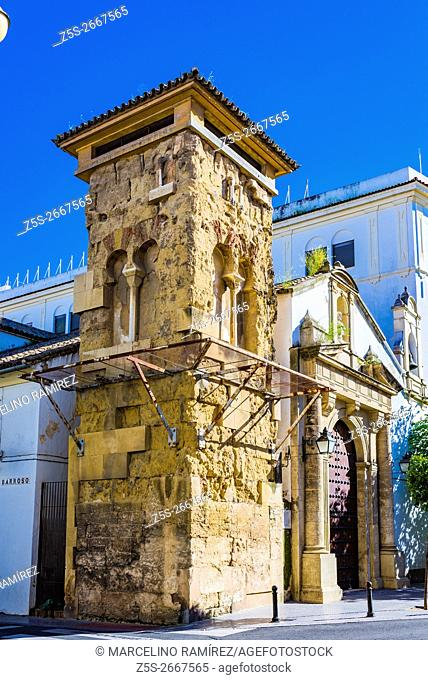 Church of San Juan de los Caballeros and San Juan minaret, a tower belonging to an old mosque of the Caliphate, located in the Plaza de San Juan